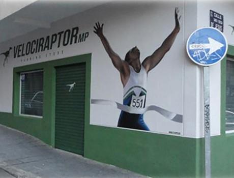 Reforma de local: tienda de running
